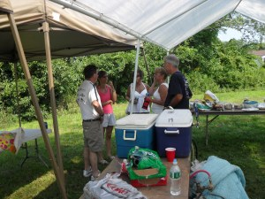 2009 Picnic Standing Room